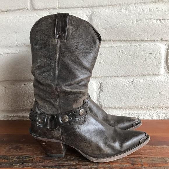 b9a7581dbdc Durango Crush Slouchy Riding Western Boots Cowgirl